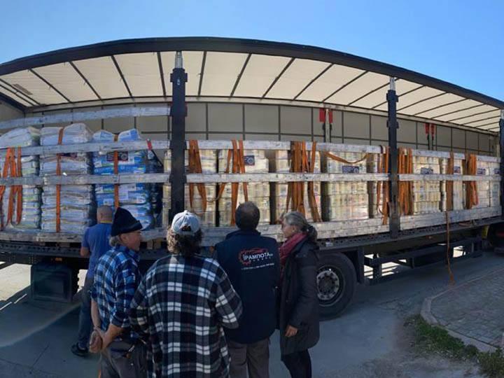 Animal Pard Net e.V.-Futterspendenankunft-maerz-2020-Spenden-Marathon-2019-Griechenland-1