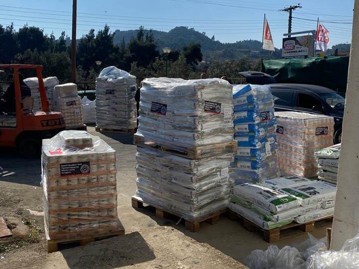 Animal Pard Net e.V.-Futterspendenankunft-maerz-2020-Spenden-Marathon-2019-Griechenland-3