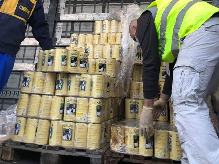 SpecialDogs e.V.-Futterspendenankunft-april-2020-Spenden-Marathon 2019-Rumämien-3