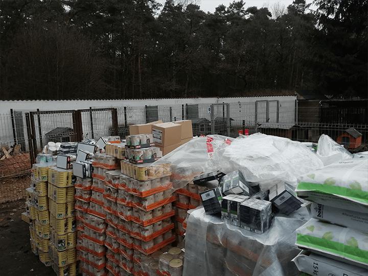 Perelka-e.V.-Futterspendenankunft2019-Spenden-Marathon2018-Polen(2)